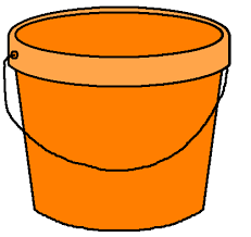 Banner Bucket Clipart Transparent Background Free On