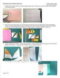 We Chose The Paperless Paper Piecing Method Because You Take Off In One Piece More Do This Enjoyable Is