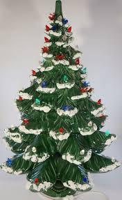 Cracker Barrel Ceramic Christmas Tree Replacement Bulbs by Christmas Christmas Tree Hand Painted Ceramic Light Up Vintage