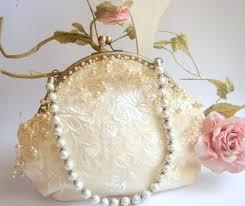 bridal clutch vintage wedding bag bridesmaids clutch bridal pearls
