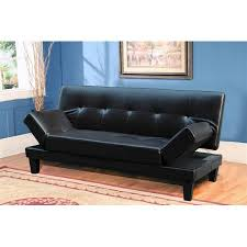 Sofa Bed In Walmart futon sofa bed with adjustable wings in black walmart com