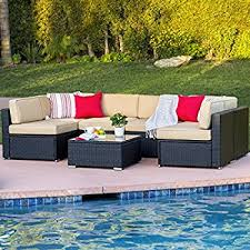 Outsunny Patio Furniture Instructions by Amazon Com Set Of 10 Outdoor Patio Wicker Furniture Alignment