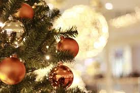 Close Up Of Christmas Tree Decoration Indoors