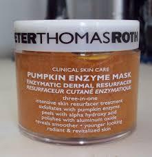 Pumpkin Enzyme Peel by Peter Thomas Roth Skinstant Mask Magic Review Nicole Van Der Heide
