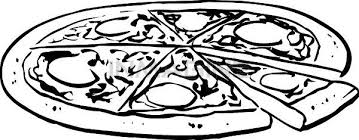 The Top 5 Best Blogs on Whole Pizza Clipart Black And White