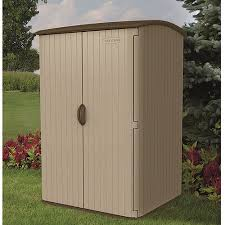 Rubbermaid Roughneck Medium Vertical Shed by Suncast Vertical Shed Walmart Com