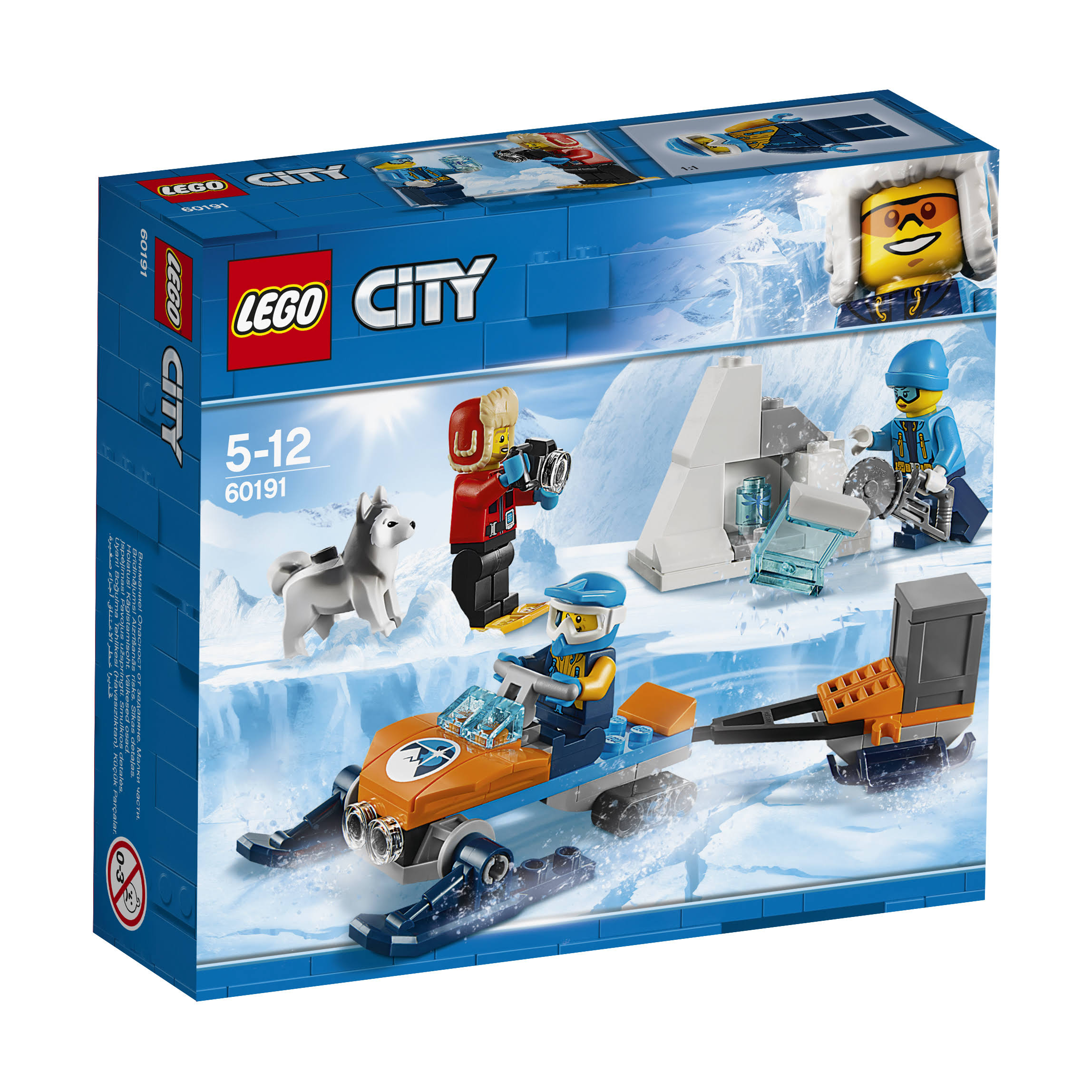 LEGO City 60191 Arctic Exploration Team Set