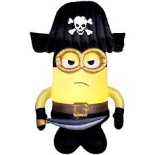 Halloween Airblown Inflatables Uk by Halloween Despicable Me Minion Pirate 9 Ft Airblown Inflatable
