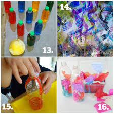Try These 16 Easy Ideas To Recycle Plastic Bottles For Play And Learning Budget Friendly