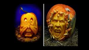 Funny Pumpkin Carvings Youtube by Amazing Halloween Pumpkin Carving Youtube