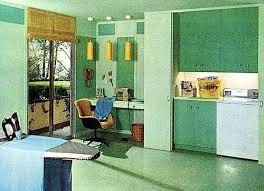 Kitchen Laundry Room 1965