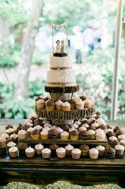 Cake And Cupcakes From Rustic Folk Weddings