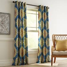 Pier 1 Imports Curtain Rods by Suzani Navy Grommet Curtain Pier 1 Imports