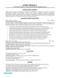 Police Chief Resume Examples Police Resume Examples Police Resume
