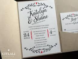 Whimsical Heart Rustic Kraft Pocket Wedding Invitations Twine