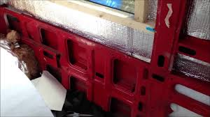 Home Decorators Free Shipping Code 2015 by 5 Iveco Project Insulation Off Grid Camper Conversion Youtube