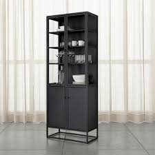 Shop Casement Black Tall Cabinet Cabinets Straightforward Silhouette Complements Everything From Traditional To More