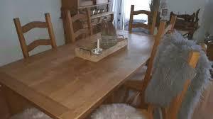 möbel tisch und 6 stühle esszimmer garnitur