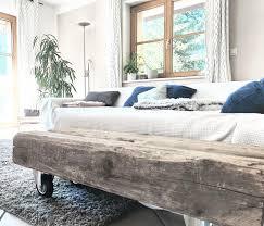 landhausstil balkentisch hygge rustikal wohnzim