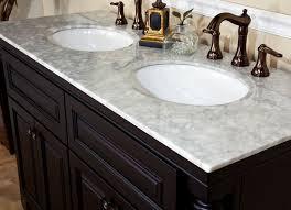 choosing the bathroom vanity top material kitchen ideas