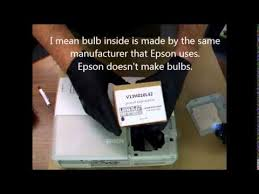 Epson 8350 Lamp Replacement by Epson Powerlite 83 Lamp Replacement Youtube