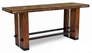 Long Pub Table Bar Height Tables Rustic Extra Thin