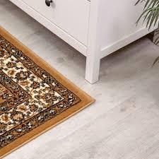 klassisch orient teppich dicht gewebt wohnzimmer beige braun