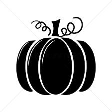 Pumpkin clipart silhouette 7