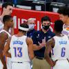 James, Davis back on court for Lakers as season draws near