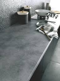 plan de travail en r駸ine pour cuisine plan de travail bois granit quartz côté maison