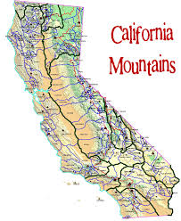 California CA Travel Around USA In County Map With Cities
