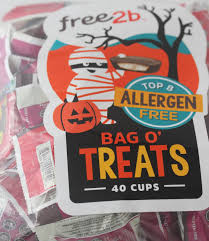 Top Halloween Candy 2016 by Learning To Eat Allergy Free October 2016