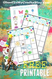 DIY Spring Bingo Game Printable