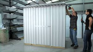 Absco Sheds Mitre 10 by Shed Assembly Flat Or Sloping Roof Garden Master Sheds Youtube