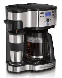 Hamilton Beach Two Way Brewer Single Serve And