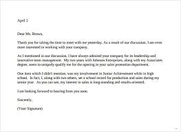 Sample Thank You Letter After Second Job Interview pertaining to