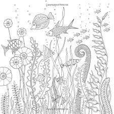 Johanna Basford Coloring Book Adult Ocean Lost