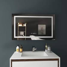 denver spiegel badspiegel mit led beleuchtung mit