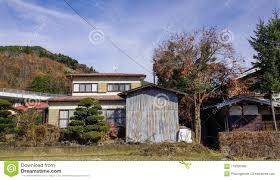 100 Small House Japan Countryside In Yamanashi Stock Image Image Of