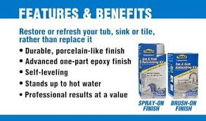 Homax Tub And Tile Refinishing Kit Canada by Shop Tough As Tile White High Gloss Tub And Tile Resurfacing Kit