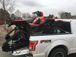 100 Atv Truck Tracked Polaris ATV Fits In A 65 Truck Bed InDepth Outdoors
