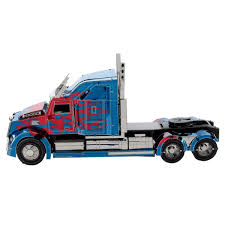 100 Optimus Prime Truck Model Metal Earth DIY 3D Metal Kits Metal Earth