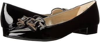 amazon com anne klein women u0027s keana patent pointed toe flat flats