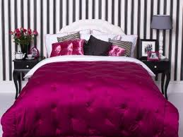 bedrooms superb pink zebra room decor white bed skirt queen