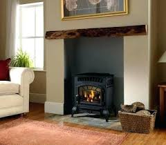 Alluring Free Standing Ventless Gas Fireplace Modern In Propane