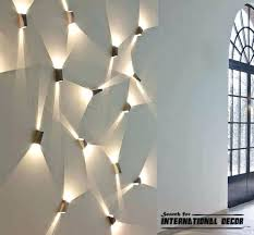canvas wall with led lights contemporary lighting ideas