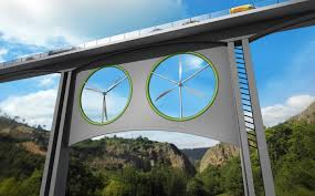 Mouser Cabinets Pay Scale by Wind Turbines Under Bridges Could Be Tomorrow U0027s Renewable Energy