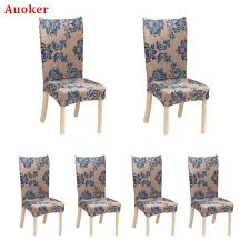 Auoker 6 X Soulfeel Soft Spandex Fit Stretch Short Dining Room Chair ... Shop Polyester Spandex Chair Covers Seat Slipcovers Protector For How To Make Arm Less Than 30 Howtos Diy Parson Design Homesfeed 12 Patterns Stretchable Ding Cover Print Slipcover To Amazoncom Tikami Wing 2piece Stretch Detail Feedback Questions About Modern Floral Pattern Tiyeres Prting Flower L Size Long Back Checked A Sofa Favorable Elegant Elastic Universal Home Loveseat Red Recliner Directors Butterfly 50 Banquet Wedding Reception Party