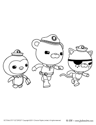 Octonauts Coloring Pages 6 Free Printable