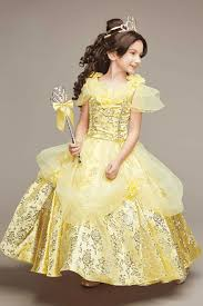 Chasing Fireflies Halloween Catalog by The Ultimate Collection Disney Princess Belle Costume For Girls